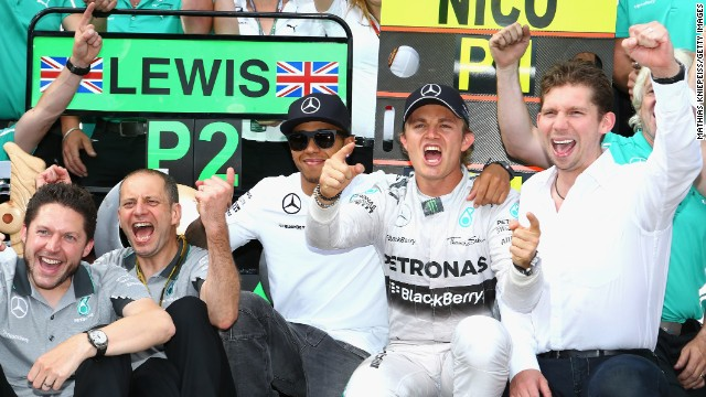 Round eight: Rosberg gets back on track in Austria where another victory saw the German stretch his championship lead over Hamilton.