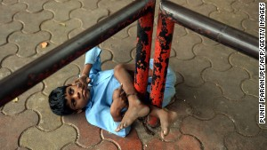 New life for boy found tied to bus stop