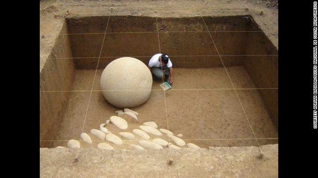 Costa Rica's newest site, the pre-Columbian chiefdom settlements of the Diquis, has archaeological evidence of economic and political systems dating to between 500 and 1500 A.D. The most mysterious find of the archaeological digs is a collection of stone spheres measuring between 0.7 meters and 2.57 meters in diameter. How they were shaped, placed and used is still a mystery.