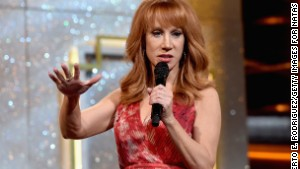 Host Kathy Griffin speaks onstage during The 41st Annual Daytime Emmy Awards at The Beverly Hilton Hotel on June 22, 2014 in Beverly Hills, California.