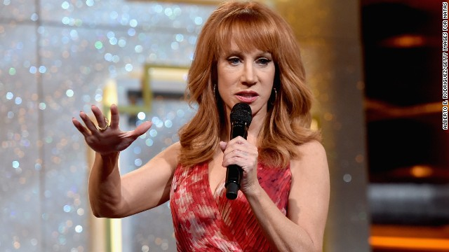 Kathy Griffin onstage during The 41st Annual Daytime Emmy Awards at The Beverly Hilton Hotel on June 22, 2014 in Beverly Hills, California.