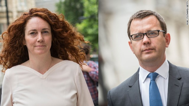 Rebekah Brooks and Andy Coulson both had denied all the charges against them in the phone hacking trial.