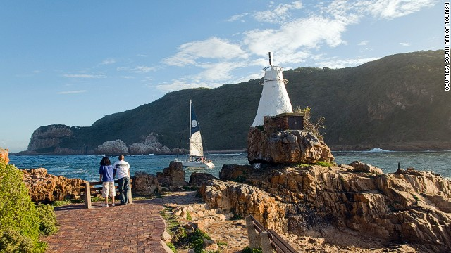 The Garden Route's jagged coastline includes indigenous forests as well as oysters, beaches and lakes.
