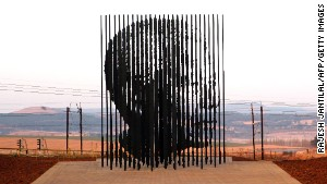 Mandela\'s arrest is recalled by a sculpture in The Midlands.