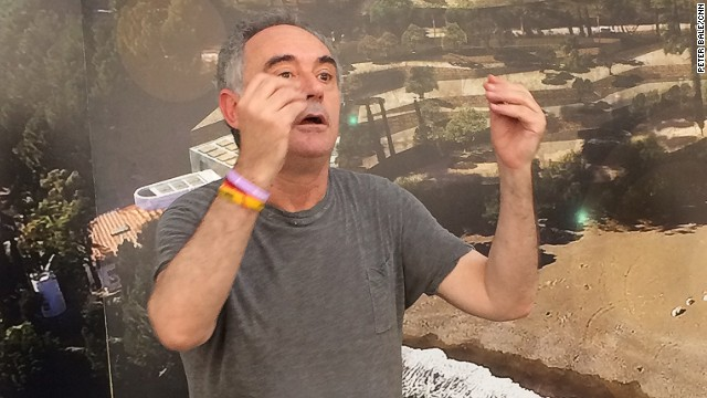 "Ferran Adria, the man who led Spain's elBulli to five ""world's best restaurant"" titles has a bold new venture. His elBulli Foundation will promote his ""theory of everything,"" a model to unlock creativity in any walk of life."