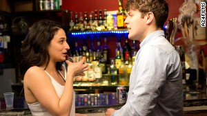 Jenny Slate and Jake Lacy in \