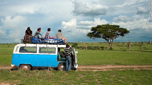 Kombi Nation Tours recovers and refurbishes abandoned VW Kombi vans in Uganda, for use as slightly odd but very cool touring vehicles.