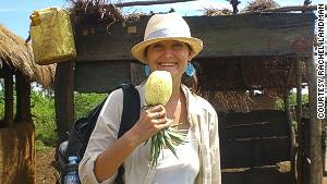 After a backpacking tour in Africa, Rachel Landman moved to Kampala, Uganda, to run Kombi Nation Tours.