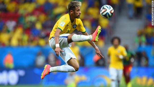 Neymar -- Barcelona/Brazil.