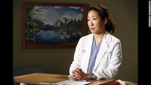 "After an earlier miscarriage, Cristina Yang (played by Sandra Oh) in the hit series ""Grey's Anatomy"" decides to have an abortion in order to keep up her workaholic tendencies. The show's creator and show runner Shonda Rhimes later told <a href='http://www.vulture.com/2011/09/shonda_rhimes_talks_about_grey.html' target='_blank'>New York Magazine</a> that she had wanted to include the plot line in the first season, but had ""some very strong conversations with Broadcast Standard and Practices back then about the topic."""