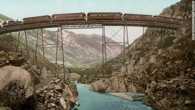 Clear Creek Canyon, Georgetown Loop, Colorado.