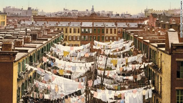 A Monday washing, New York.