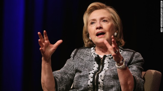 Hillary Clinton stands by 'Russian reset' in face of recent events