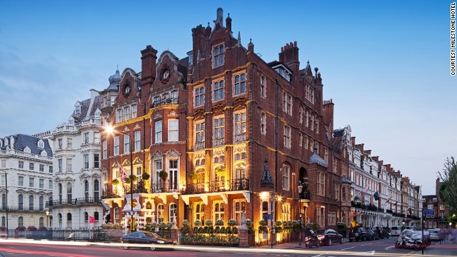 At London's Milestone Hotel, rates for its lavish rooms start at $1,017 per night with a minimum seven-night stay.