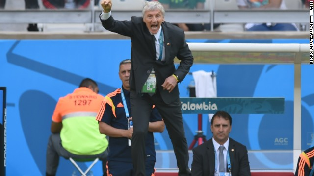 Colombia is led by an Argentine in Jose Pekerman, who previously guided Argentina to the quarterfinals in 2006, while he also won the World Youth Championship three times with his nation's under-20 side.
