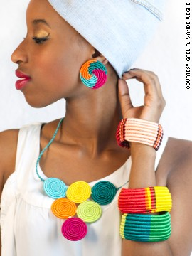 Owner Teta Isibo started Inzuki Designs in 2010 when she resigned from her land management job and turned to her passion for fashion and design.