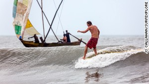 Ghana: Surfing\'s next boom location? Probably not.