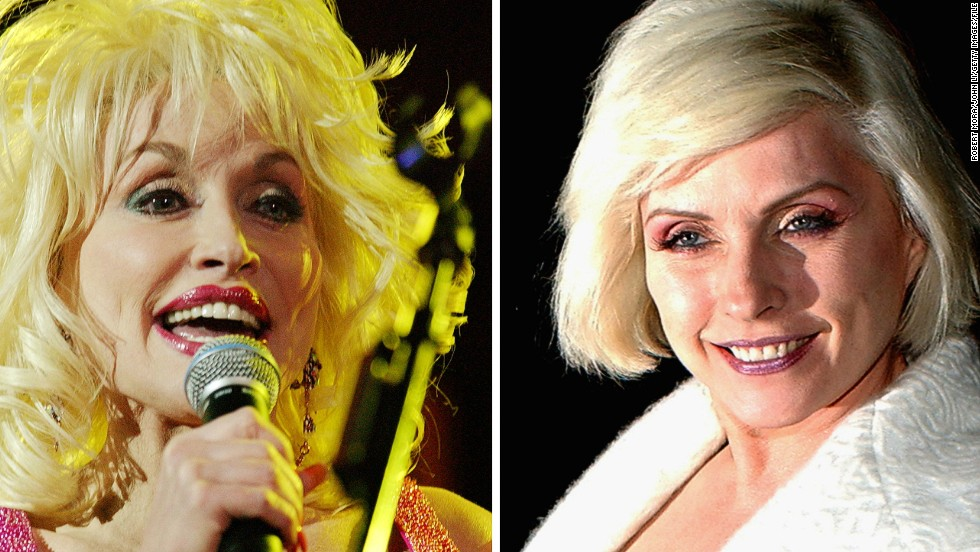 "Both are 68. Both are known for their trademark golden locks. And both are titans of the music world.<!-- --> </br><!-- --> </br>But when Dolly Parton and Debbie Harry, of band ""Blondie,"" perform at one of the biggest music festivals on the planet -- Glastonbury -- they will be bringing very different styles to the stage.<!-- --> </br><!-- --> </br>""They're both pioneers in their own way,"" said Dan Stubbs, news editor of British music magazine<a href='http://www.nme.com/#' target='_blank'> NME</a>. ""Dolly's a self-made country and western legend, with a big, warm personality. Debbie Harry came from the New York punk scene of the 1970s, but found mainstream success by embracing disco, pop, and rap.""<!-- --> </br><!-- --> </br>As both women take to the stage at the UK's premier arts festival, we look back at their remarkable careers.<!-- --> </br><!-- --> </br>By <strong><a href='https://twitter.com/sheena_mckenzie' target='_blank'>Sheena Mckenzie</a></strong>, for CNN<!-- --> </br>"