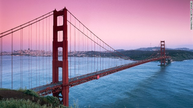 Travel through the country's oldest Chinatown and its cutting edge restaurant scene before taking the obligatory picture at the Golden Gate Bridge. Another can't miss: the hippie haven that is Haight-Ashbury, once home to psychedelic rock performers such as The Grateful Dead and Janis Joplin.