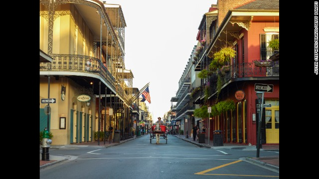 "Culture-rich and burden-free, ""the Big Easy"" is a great place for a getaway weekend. Soak in the vibrant nightlife, delicious food and great music."