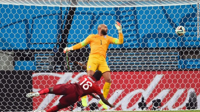 USA was moments away from booking its place in the round of 16 but for Silvestre Varela's late equalizer for Portugal. Had it held on, Jurgen Klinsmann's side would have advanced to the next stage one game ahead of Germany. Team USA were beaten 1-0 by Germany in their final group game, but still reached the knockout rounds.