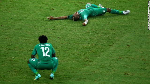 World Cup: The best photos from June 24
