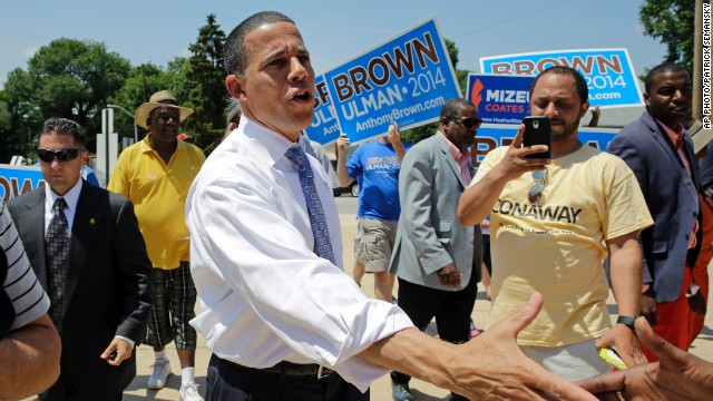 Anthony Brown wins Maryland Democratic gubernatorial primary