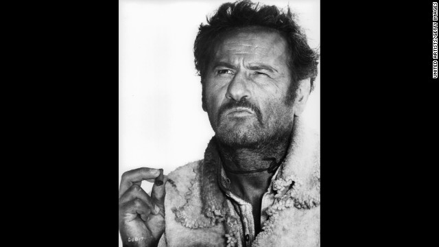 "Character actor Eli Wallach, seen here in ""The Good, the Bad and the Ugly"" as Tuco, died on June 24, according to a family member who did not want to be named. He was 98."