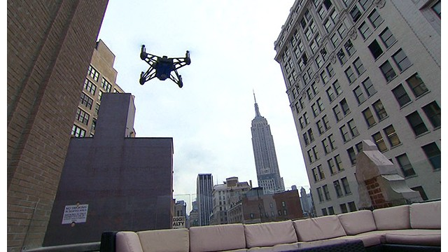 CNN to study drone use for reporting