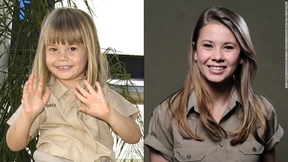 The late Steve Irwin's teen daughter, Bindi, is growing up to be quite the conservationist. She's also advising girls her age to dress more conservatively. See how these other child stars have turned out: