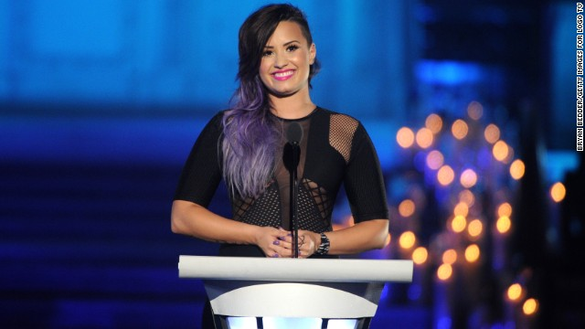 Demi Lovato honors gay grandfather