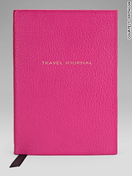 You really need to make every word count if you're jotting down your travel-related musings in the luxurious Smythson Chameleon Collection Travel Journal, which has a goatskin cover and ultra-thin pages.