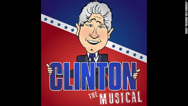 Dueling Bill Clintons will be on view in