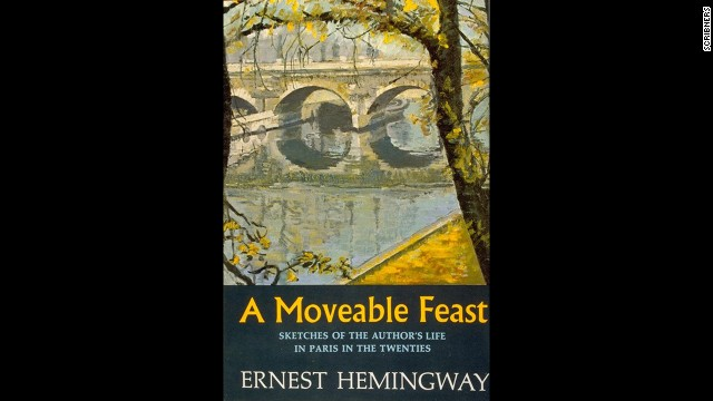 "Ernest Hemingway's autobiographical book ""A Moveable Feast"" was among the top sellers in the summer of 1964."