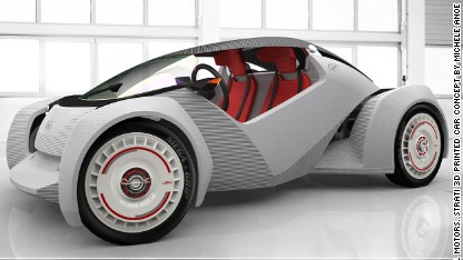 Would you drive a 3D printed car?