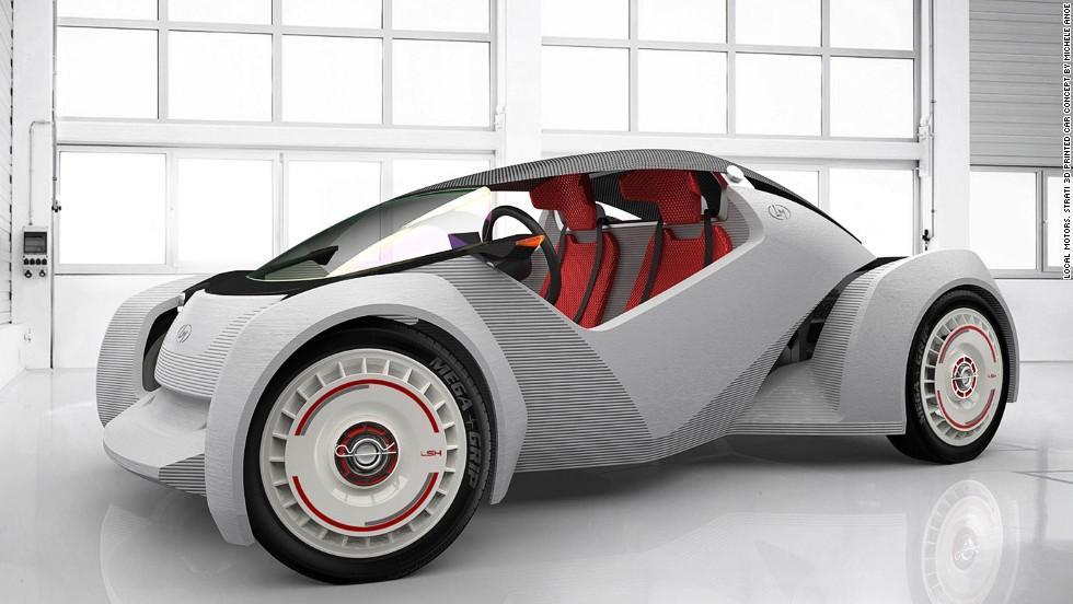 Auto impreso en 3D