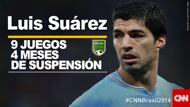 OPINIÓN: Luis Suárez, lo que haces con los pies, lo destruyes con los dientes