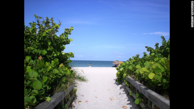 White sand beaches, coconut palms, lush tropical foliage and crystal blue water await you on Florida's Sanibel Island, where about $1,500 lets you explore paradise.