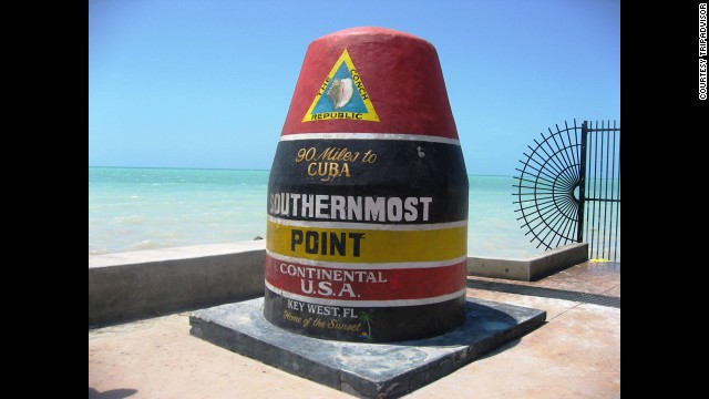 The third Florida location to make the list and the southernmost point in the Continental United States, Key West also runs about $2,000 for a weeklong stay.