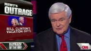 Gingrich outraged at Clinton designer gifts