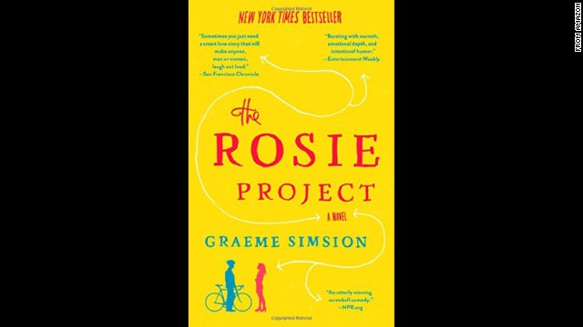 "<strong>""The Rosie Project,""</strong><strong> by Graeme Simsion: </strong>Can love be a science? Socially bumbling genetics professor Don Tillman hopes so, as he sets out to find a wife in an orderly, evidence-based fashion. What he doesn't count on is chemistry with a totally unlikely candidate. Charming, funny, and endearing."