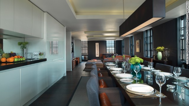 Overlooking Hyde Park in London's Mayfair neighborhood, Grosvenor House Apartments range from studios that start for around $400 per night to suites such as the three-bedroom, 1,976-square-foot Westminster Suite, which starts at $4,622 per night for stays of seven to 13 nights.