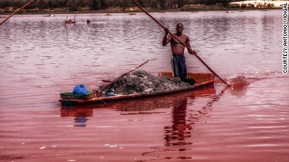 Senegal's 'Dead Sea'
