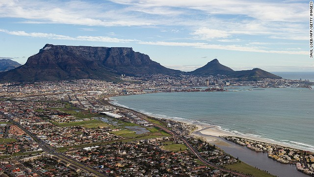 A start-up in Cape Town is offering city tours in 3G Wi-Fi equipped cars, enabling visitors to upload photos to social media as soon as they take them.
