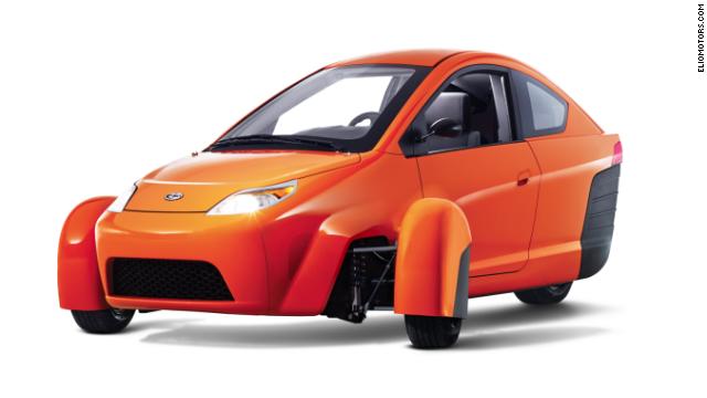 Elio Motors promete un auto de 6.800 dólares y que sólo tiene tres ruedas