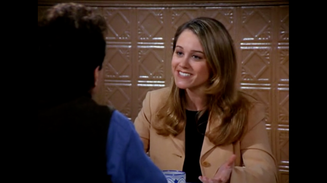 <strong>Christine Taylor</strong> plays Jerry's perfect girlfriend Ellen, who is perfect in every way, except that she seems to have no friends. Jerry flies his parents out to meet her and when they love her, too, he decid