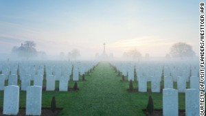 Belgium\'s Flanders region: a landscape dotted with war cemeteries.