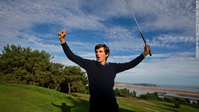 """Gutiérrez is also from Cantabria in northern Spain, and had never acted in anything other than the school play before he got the role as Seve. """"I thought it was going to be difficult in the way he was such a unique player,"""" he said of playing Seve. """"But also, it was easy in the way that he has always been my idol, the master that I always tried to be like."""""""