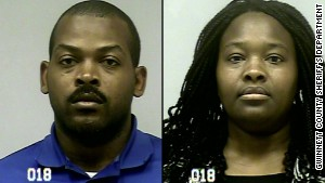 Recardo Wimbush and Therian Wimbush have been charged with child cruelty and false imprisonment.