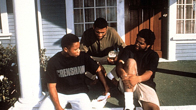 "<strong>""Boyz N the Hood"" (1991)</strong> - Writer/director John Singleton broke ground with this urban drama which starred Cuba Gooding Jr., Laurence Fishburne and rapper-turned-actor Ice Cube. (Netflix)"